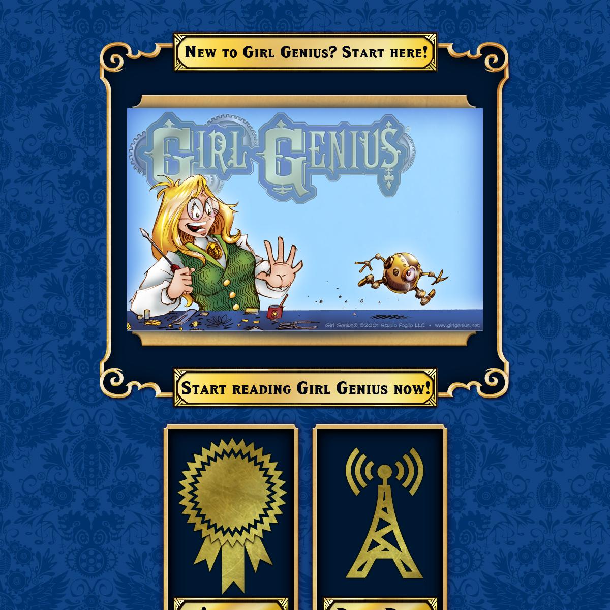 Girl Genius Online Comics