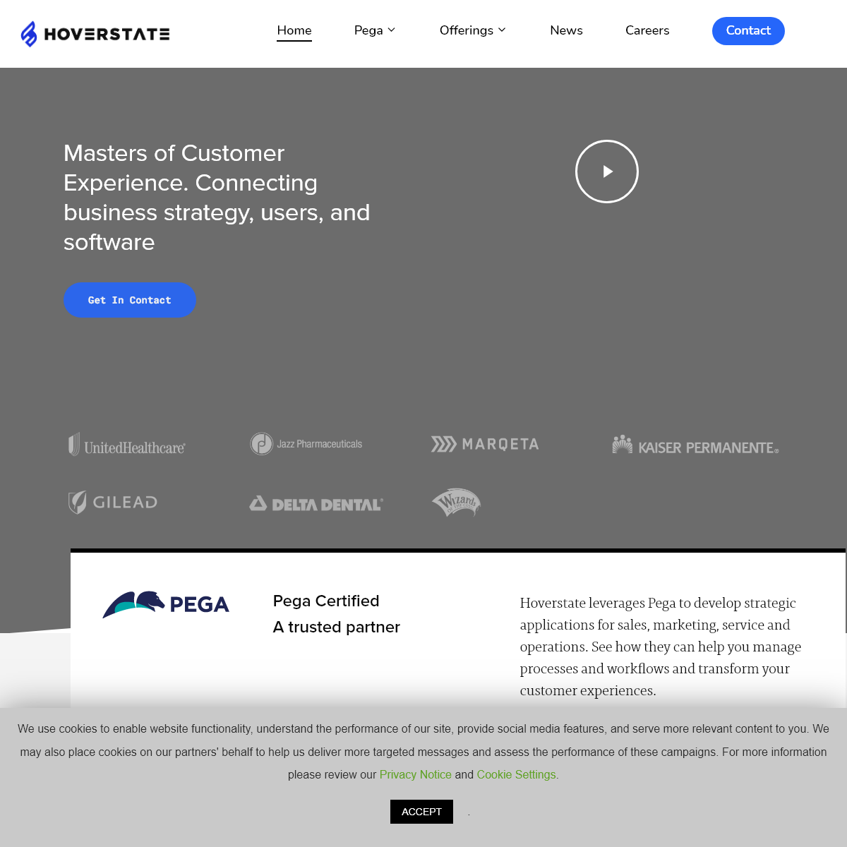 Hoverstate – Technology, Experience Design, Innovation, Healthcare, Pega