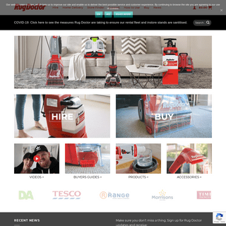 Rug Doctor – carpet cleaning