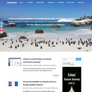 LinuxBabe - Linux Sysadmin - Desktop Linux - Raspberry Pi