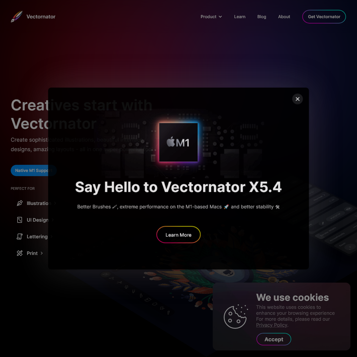 Vectornator- Graphic Design Software