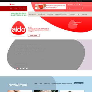 A.I.D.O. - Associazione Italiana per la Donazione di Organi, Tessuti e Cellule