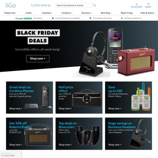 liGo.co.uk - The UK`s Cordless Phone, Headset & Radio Specialists!