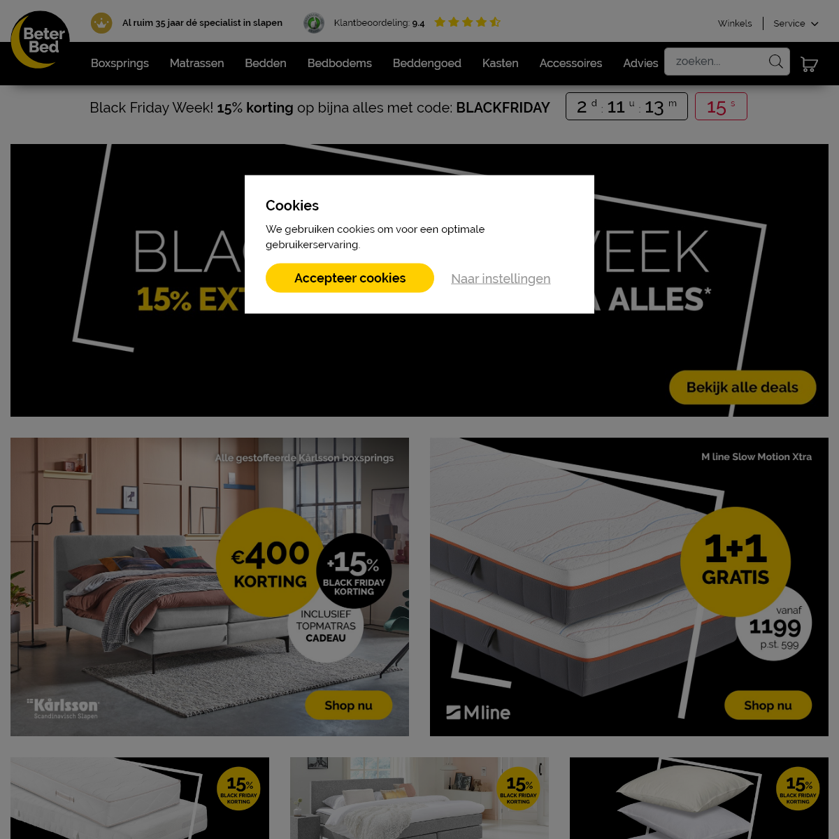 Beter Bed - Beddenwinkel - De slaapexpert van Nederland - Beter Bed