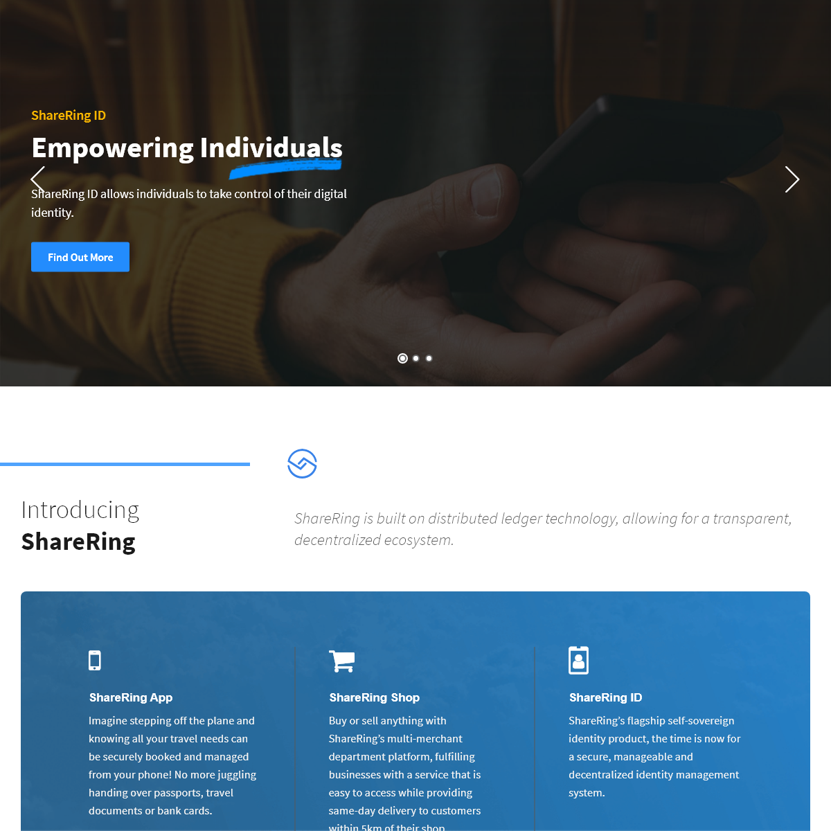 ShareRing - Unified Ecosystem for the Travel, Sharing and On-Demand Economies