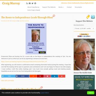Craig Murray - Historian, Former Ambassador, Human Rights Activist