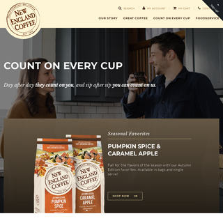 New England Coffee – Count On Every Cup