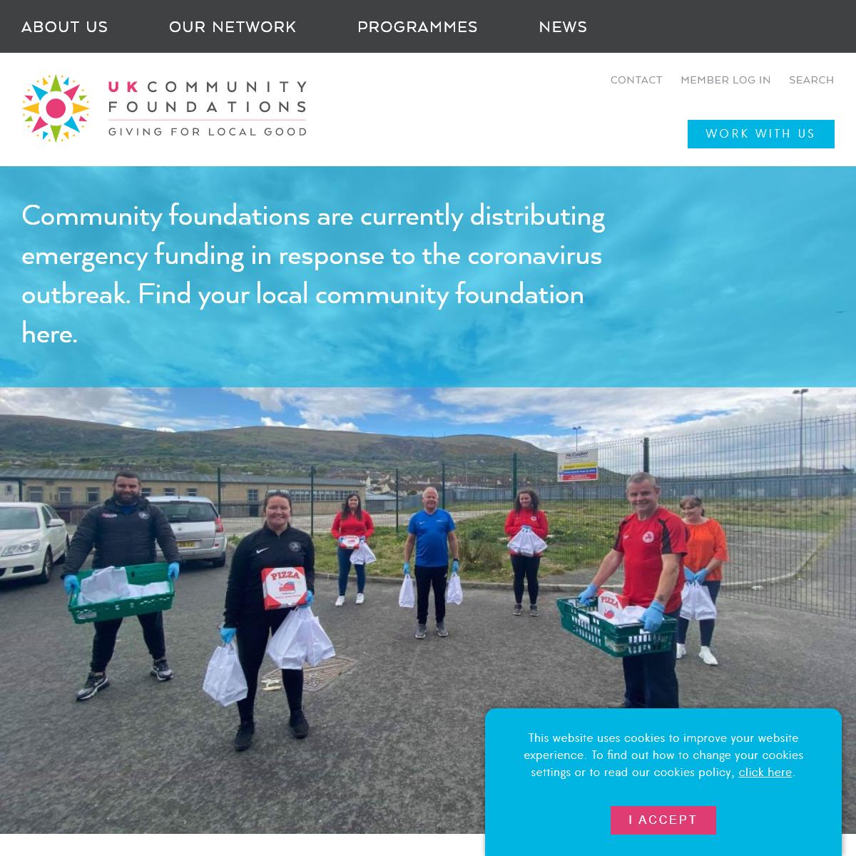 Homepage - UK Community Foundations