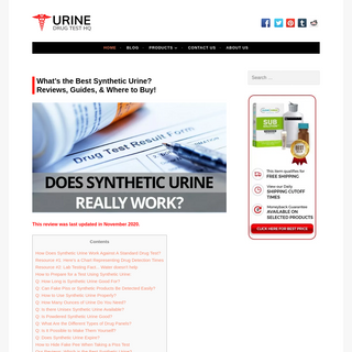 Synthetic Urine Review- What`s the Best Fake Pee in 2020-