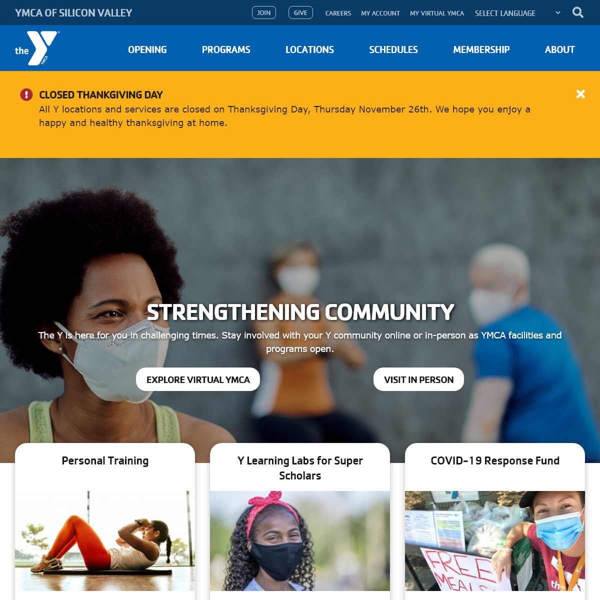 Home - YMCA Silicon Valley