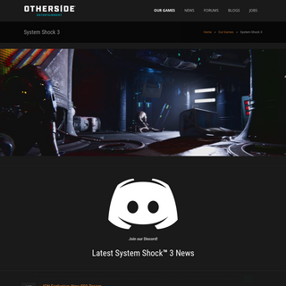 OtherSide Entertainment – System Shock 3