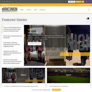 The Mancunion - The largest University campus newspaper in the UK