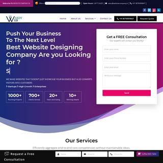 Website Designing Company Web Development company