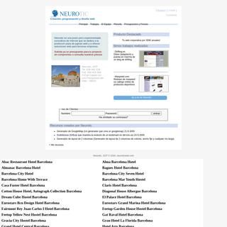 Neurotic- Creación, programación y diseño web