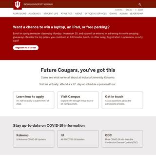 Indiana University Kokomo- Indiana University Kokomo