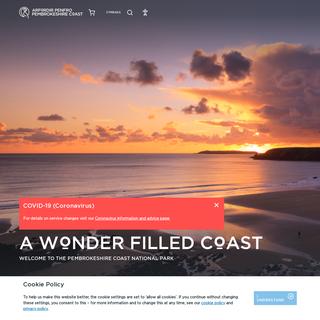 Pembrokeshire Coast National Park - A Wonder Filled Coast