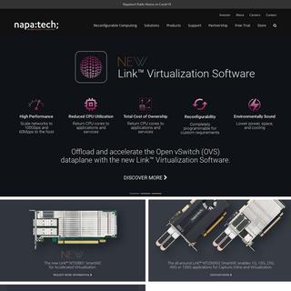 Napatech - Reconfigurable Computing