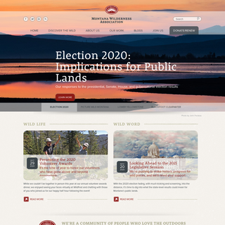 Keep it Wild - Montana Wilderness Association