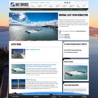 Latest Bridge Stories - Bay Bridge Info