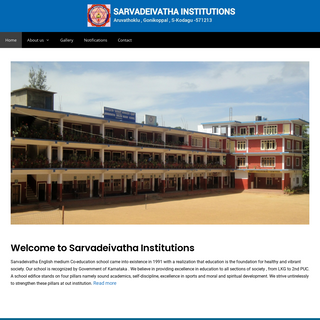Sarvadeivatha Institutions – The union of all caste and religion creating oneness consciousness