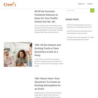 Creem Magazine - blog