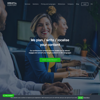greatcontent- multilingual content creation agency