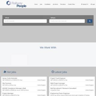 RailwayPeople.com - UK Rail Jobs - Rail Careers - Rail Directory - Rail News - Search thousands of Rail jobs