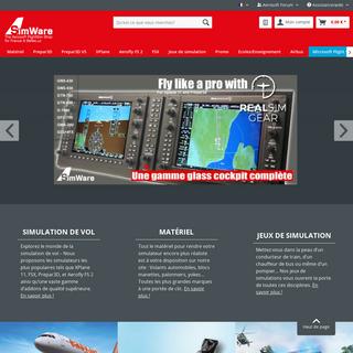 Votre spécialiste en simulation de vol - SimWare Shop