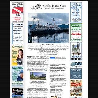 SitNews - Stories In The News - Ketchikan, Alaska
