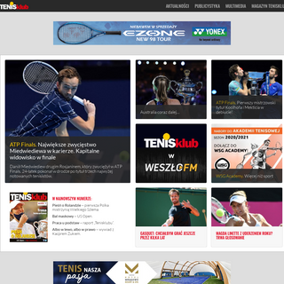 Tenisklub - Tenis w najlepszym wydaniu!