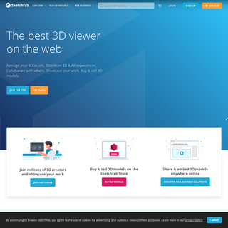 Sketchfab - The best 3D viewer on the web