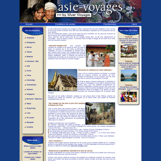 Asie-Voyage le spécialiste des voyages en Asie à prix négociés.