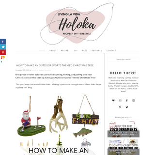 Living La Vida Holoka - Simplifying the Crazy in Everyday Life Through Easy Recipes, Crafts, and More!