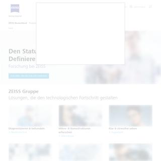 ZEISS Deutschland, optische und opto-elektronische Technologie