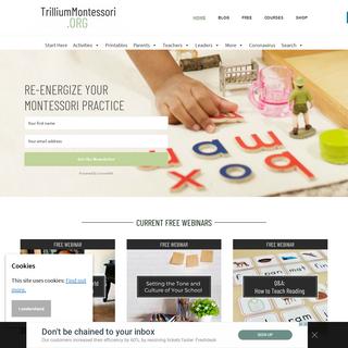 Trillium Montessori- Resources for Montessori Teachers, Leaders, Parents