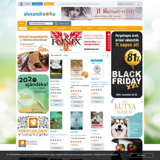Alexandra.hu - Alexandra Online Könyvesbolt