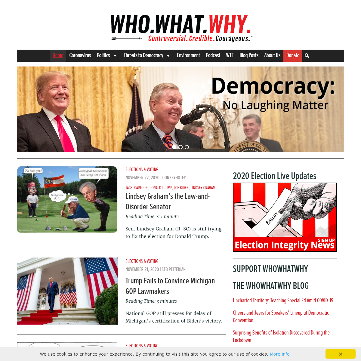 WhoWhatWhy - Groundbreaking Investigative Journalism