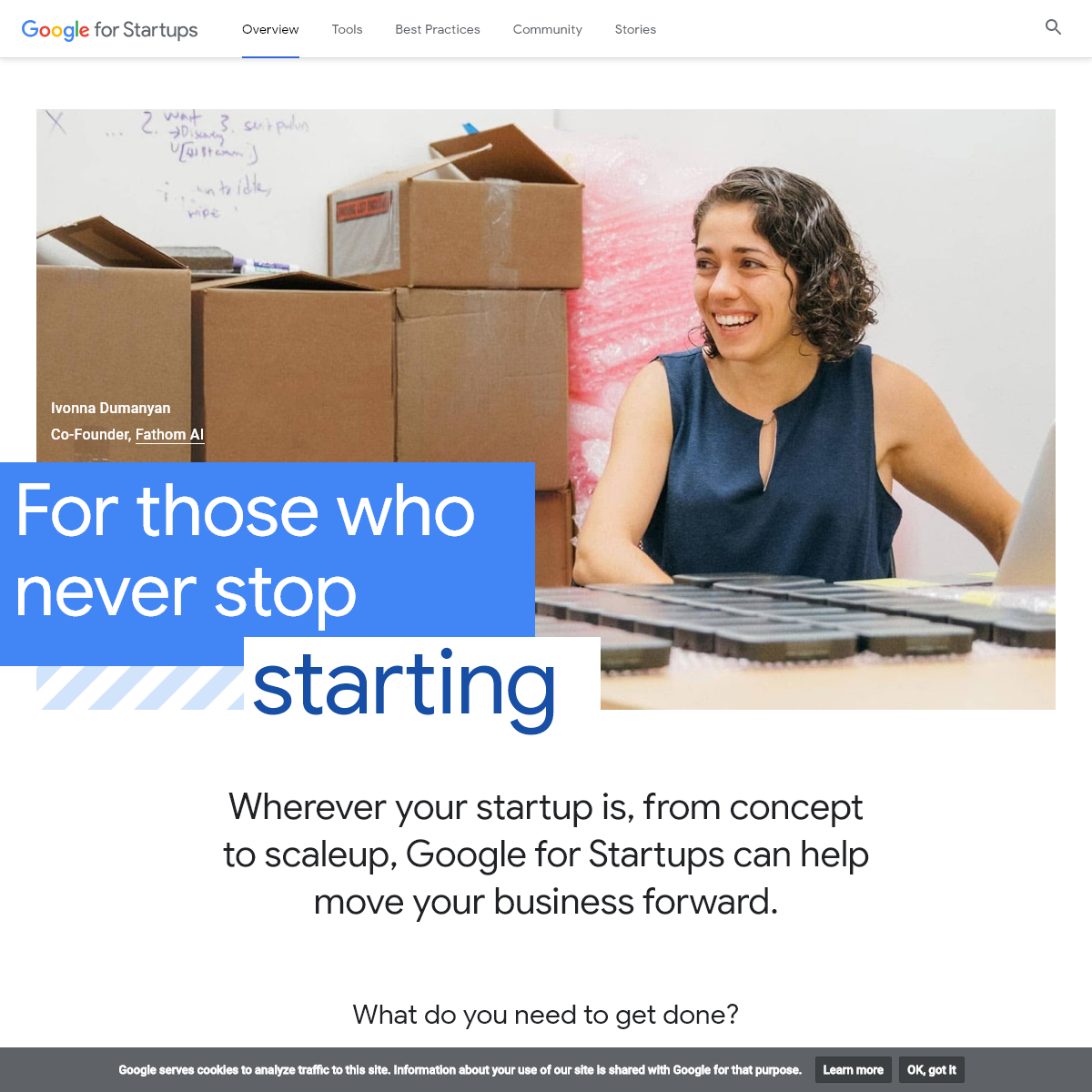 Best Practices & Helpful Tools for New Startups - Google for Startups