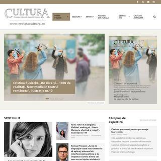 Cultura – www.revistacultura.ro