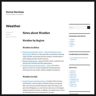Xornal Revistas – Otro sitio realizado con WordPress