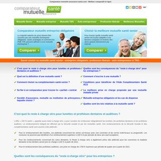Comparateur mutuelle santé - Senior – TNS – Entreprise