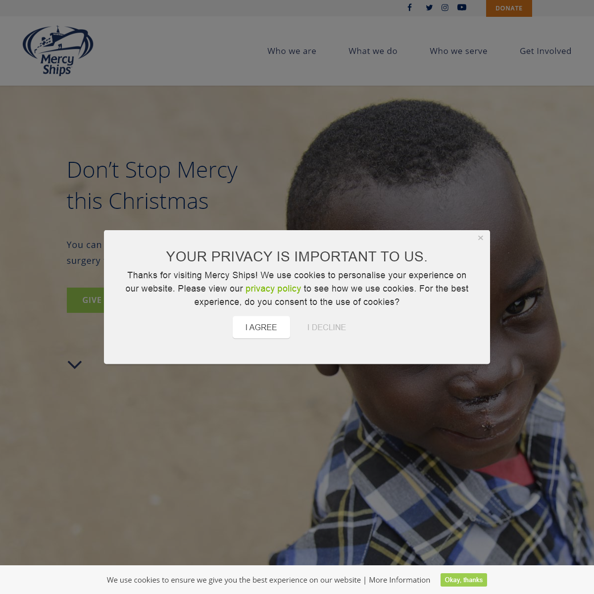 Mercy Ships UK - International Surgical Care Mission Charity