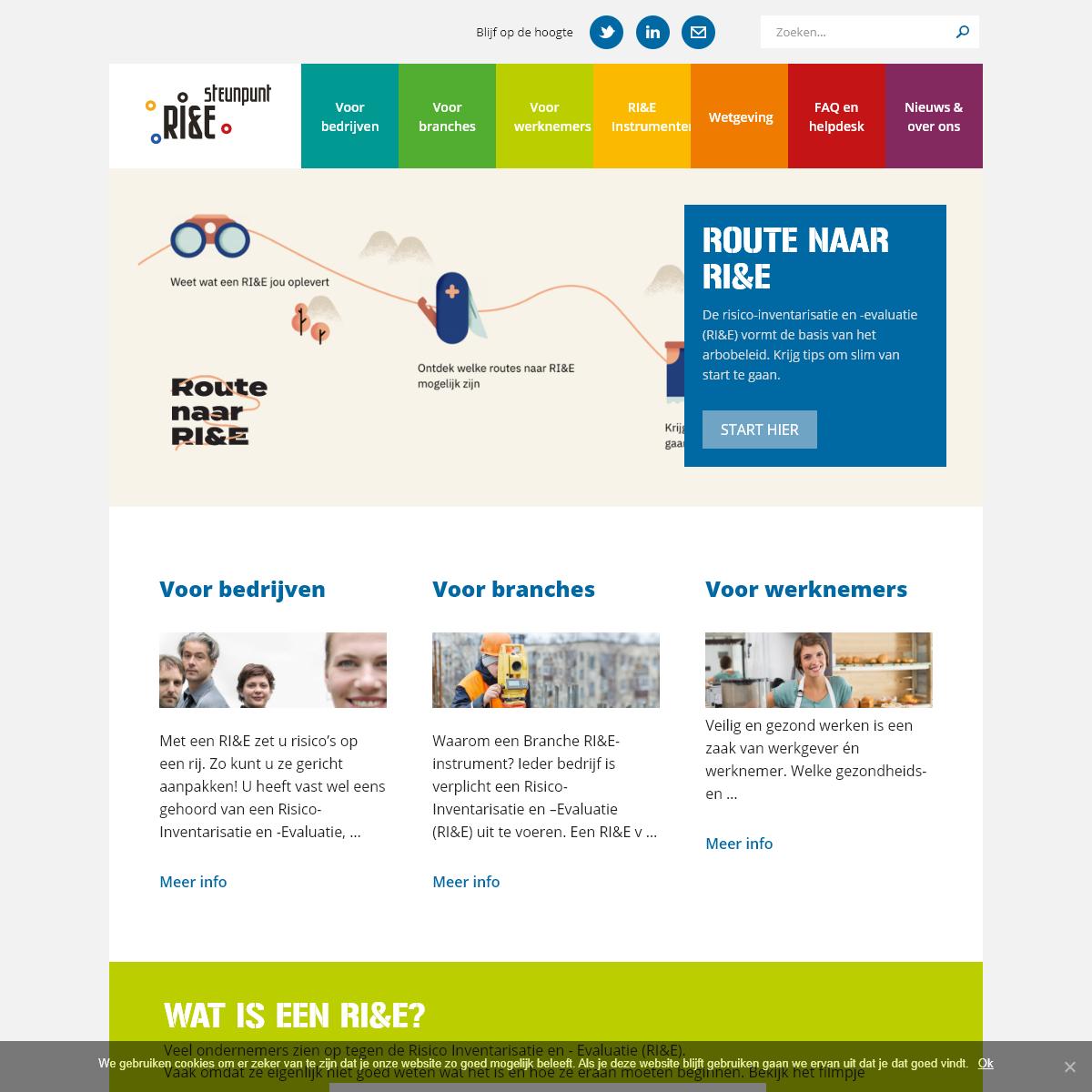 homepage - RI&E