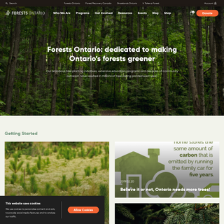 Home - Forests Ontario