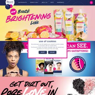 Bioré® Pore Strips & Pore Obsessed Skincare