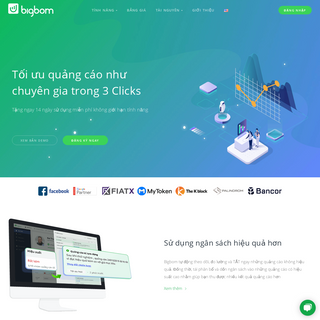 BIGBOM - Giải pháp tối ưu quảng cáo như chuyên gia trong 3 clicks