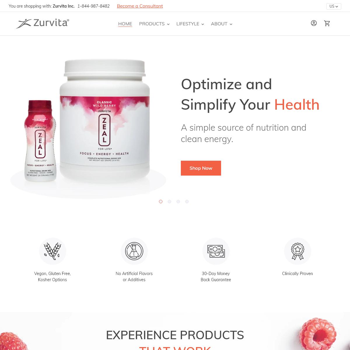 Zurvita, a Health and Wellness Direct Sales Company – Zurvita Holdings Inc.