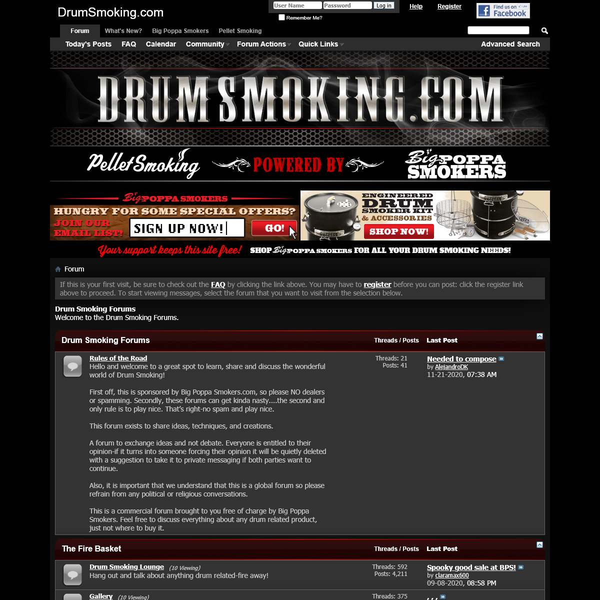 Drum Smoking Forums