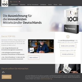 TOP 100 Innovationswettbewerb