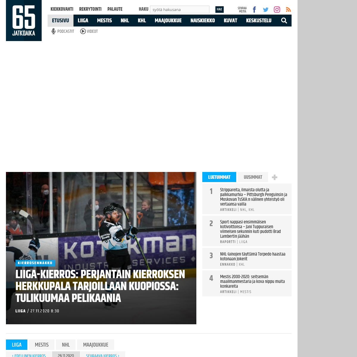 Jatkoaika.com - Kaikki jääkiekosta